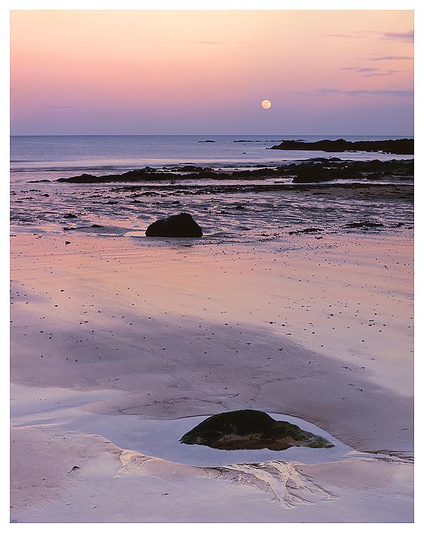 Moonrise, East Sands