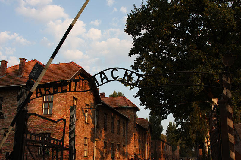 Main Gate ARBEIT MACHT FREI