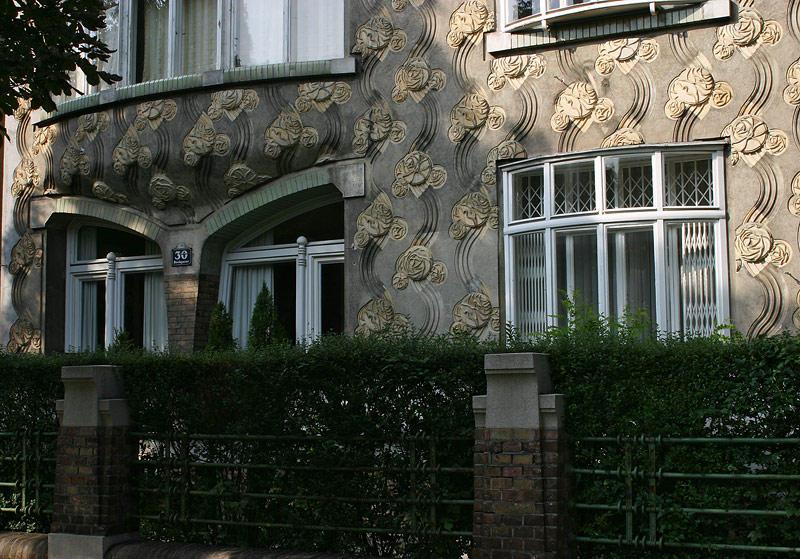 Jože Plečnik,Villa Langer,Vienna