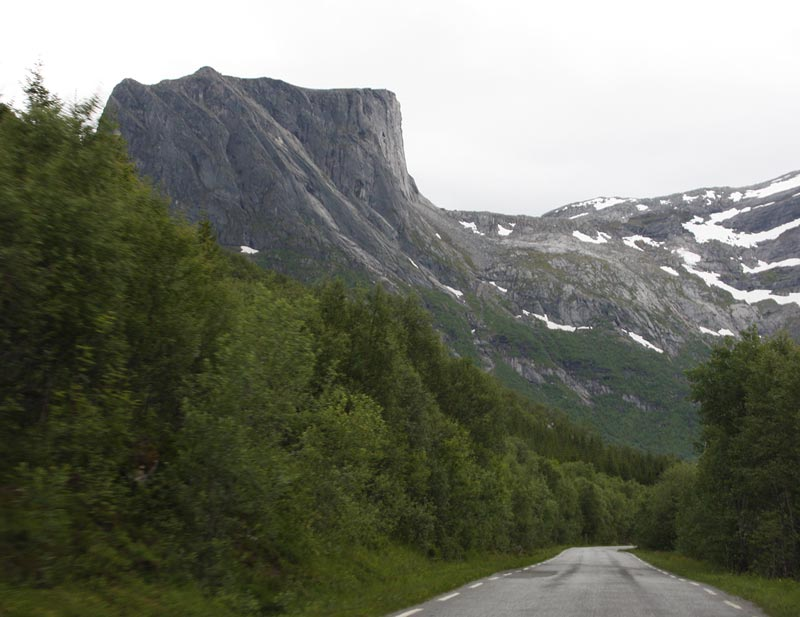 near Agskardet,Route