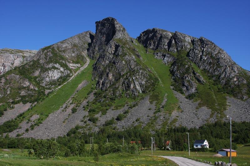 near Valberg,Lofoten