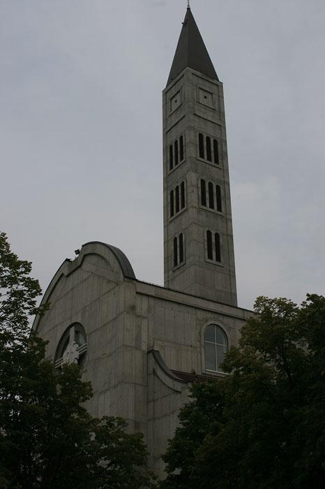 High rise of katholic church