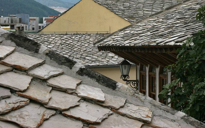 Stone roofs