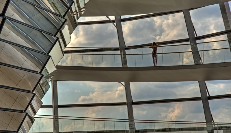 In the Reichstag