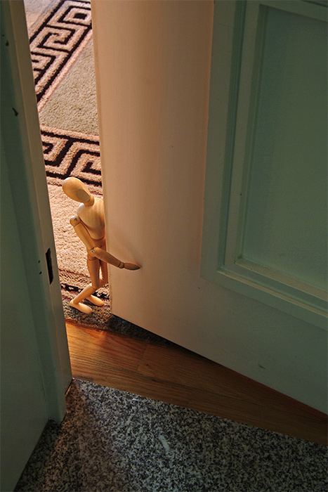 Who is knocking? Oh, you!