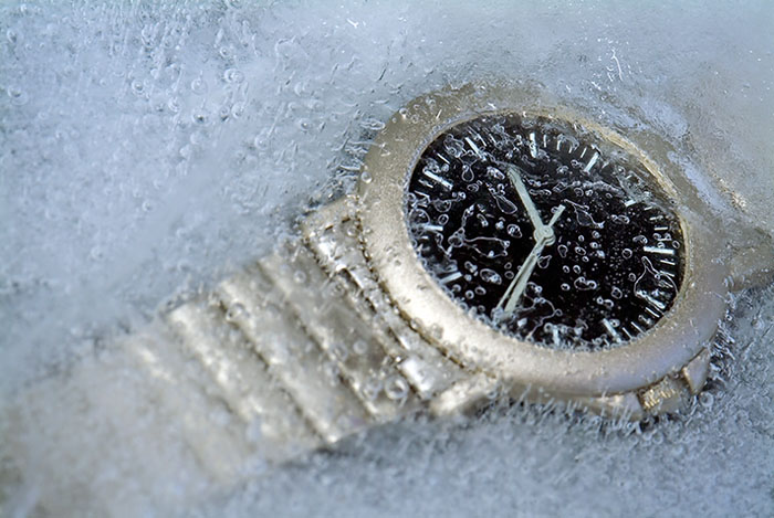Frozen time...
