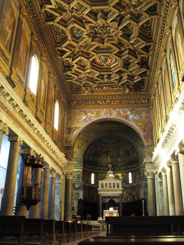 Rome - San Maria in Trestevere 02.JPG