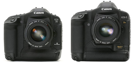 Canon 3D with 1Ds M2