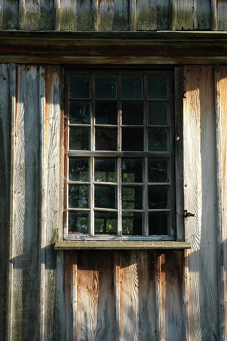 window in Komancza