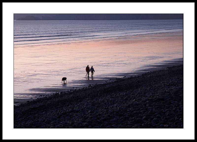 Seashore walkers