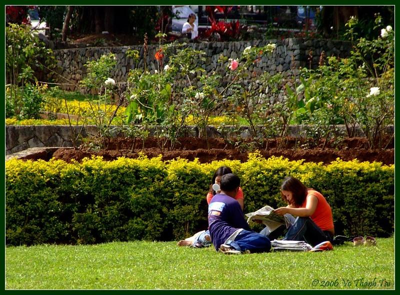 Baguios Burnham park