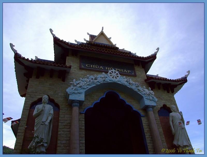 Gate of Ho Phap temple