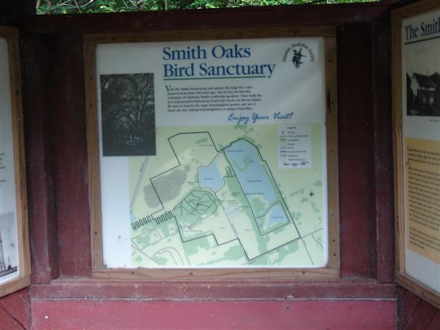 Smith Oaks sign