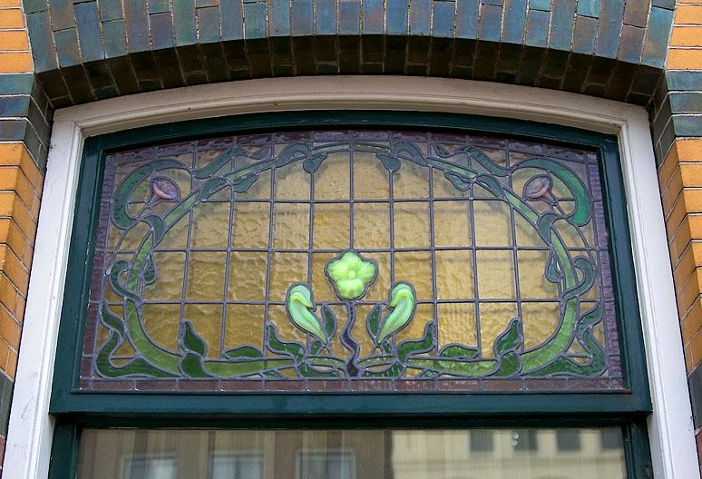Jugendstil window