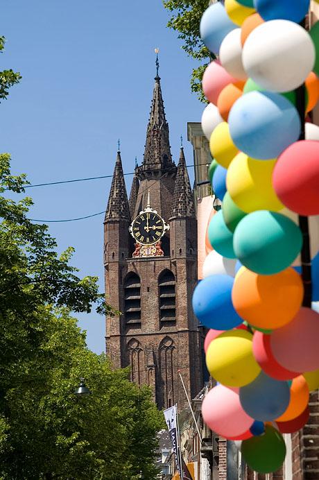 Oude Delft, balloons
