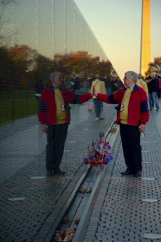 The Vietnam War Memorial -The Wall
