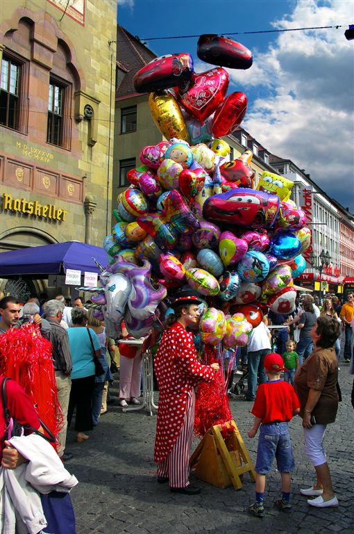 Baloon Seller, Würzburg