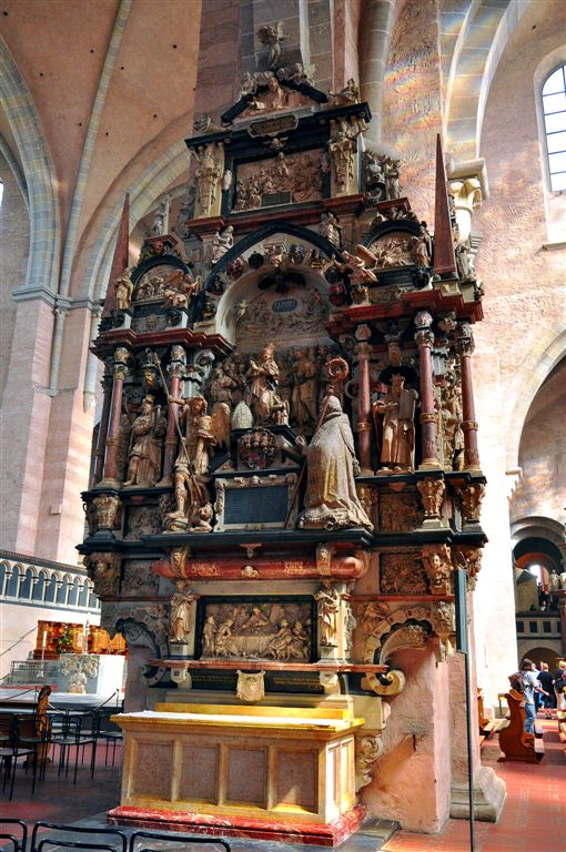 Inside of Trier Cathedral