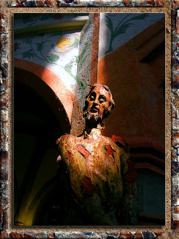XIII Century Spooky Jesas in Regensburg, Bayern