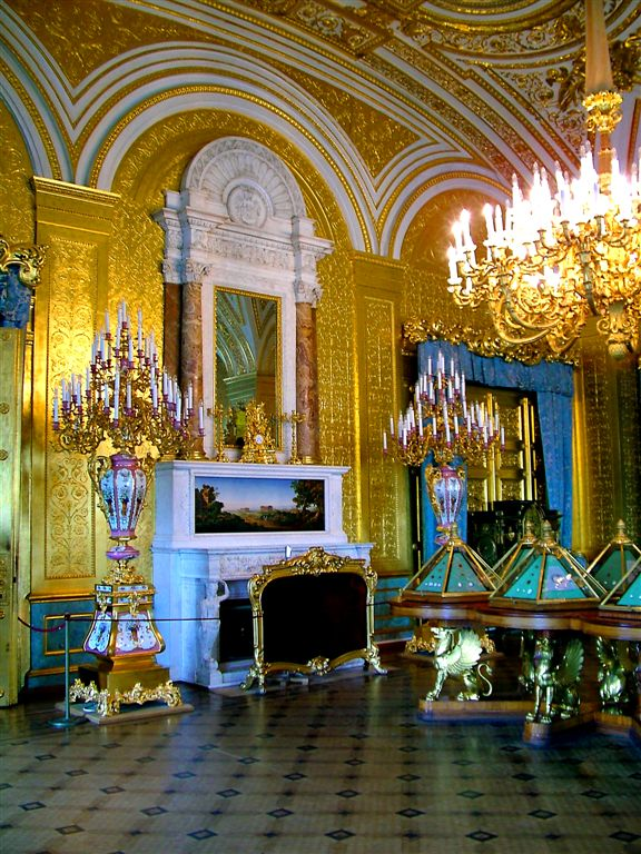 Splendor of Winter Palace,- St.Petersburg