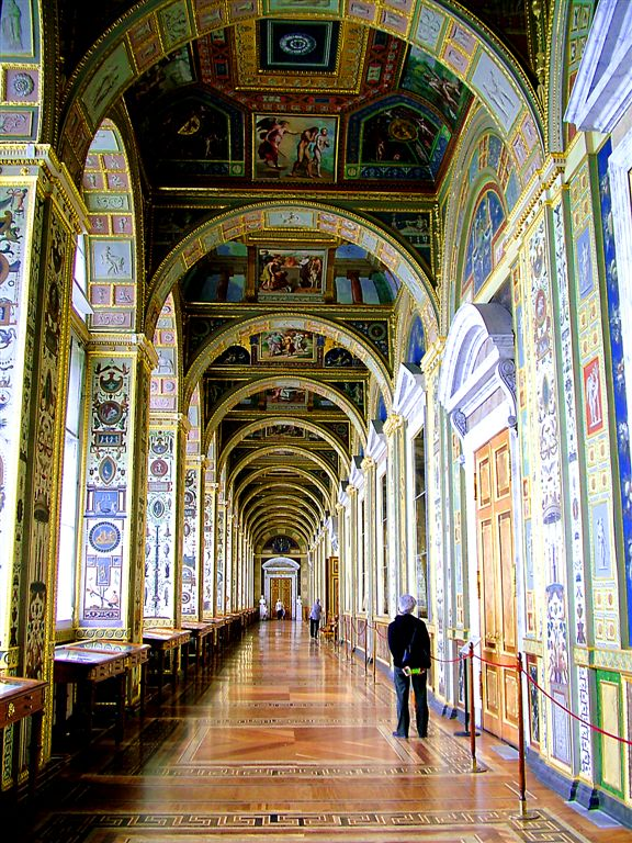 Inside Winter Palace, St.Petersburg