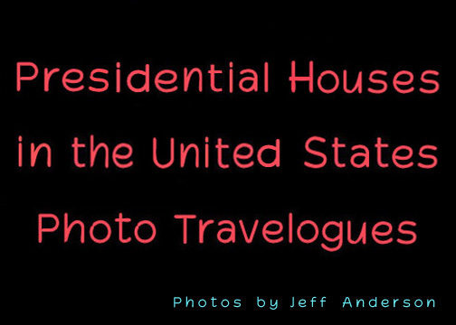 Presidential Houses in the United States cover page.