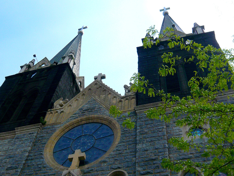 Saint George Catholic Church - Front View