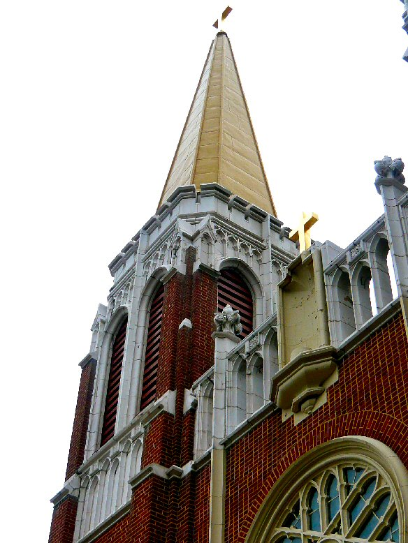 Saint Casimir Church Steeple and Detail