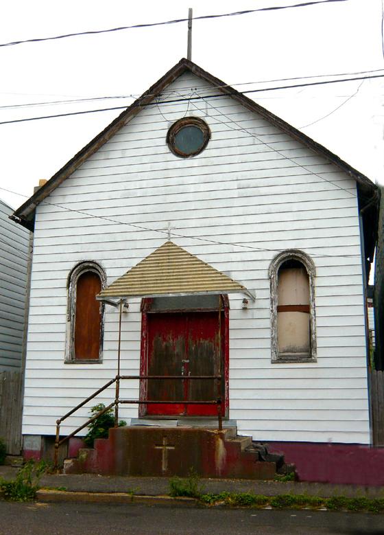 Oldest Known Church - Shenandoah, PA