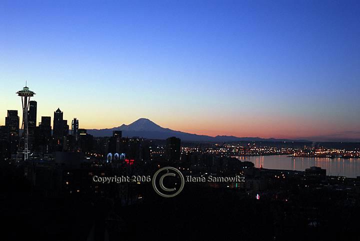 Seattle Winter Sunrise