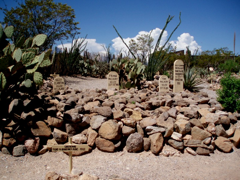 Boot Hill - aftermath of the OK Corral massacre