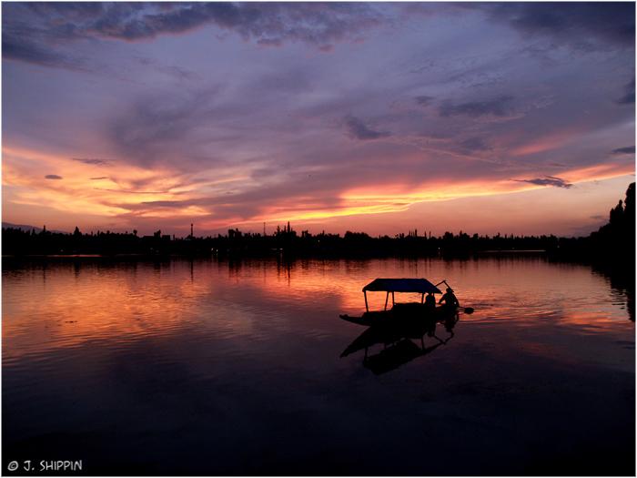 Nigeen Lake, Srinagar, Kashmir.
