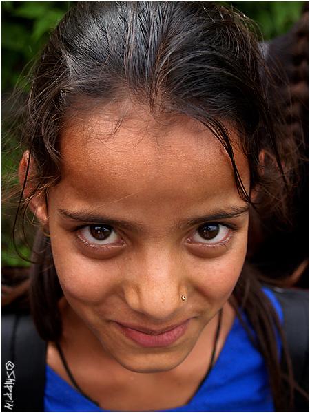 Girl in Brahmor, Chamba Valley, Himachal Pradesh.