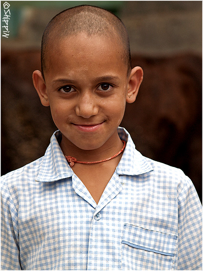 Boy in Brahmor, Chamba Valley, Himachal Pradesh.