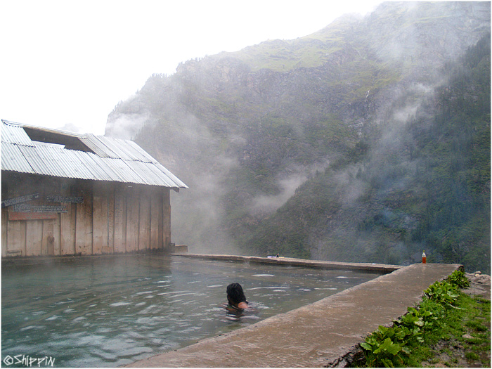 Hot springs in Khiriganga- one of the most amazing places Ive seen.