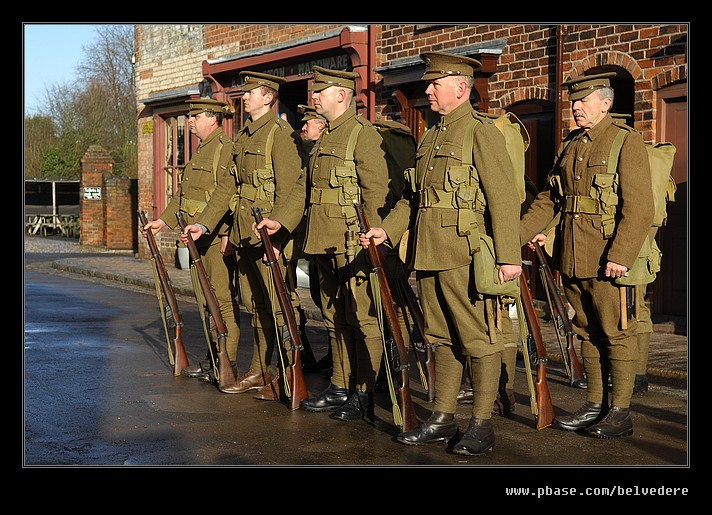 WWI Renactment, Black Country Museum