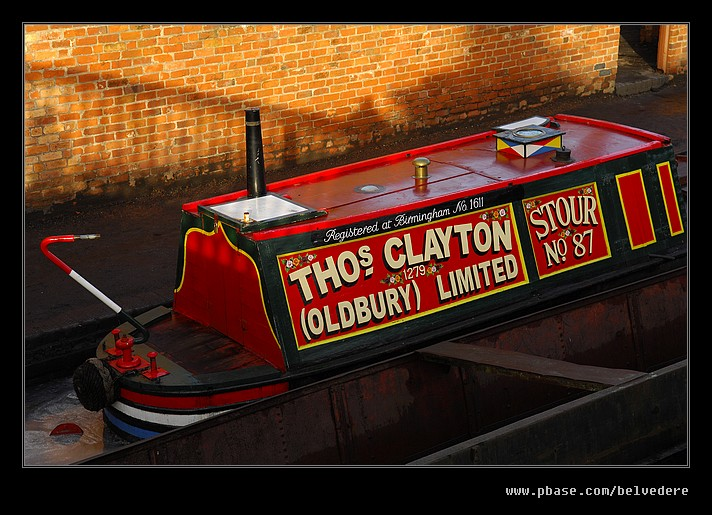 Claytons Canal Barge, Black Country Museum