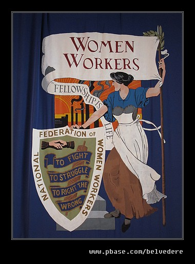Women Chainmakers Flag, Black Country Museum