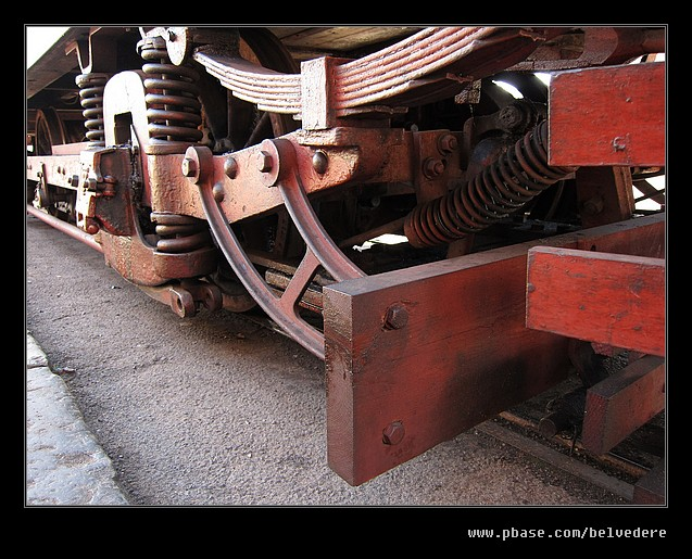 Tram 34 Chassis #1, Black Country Museum