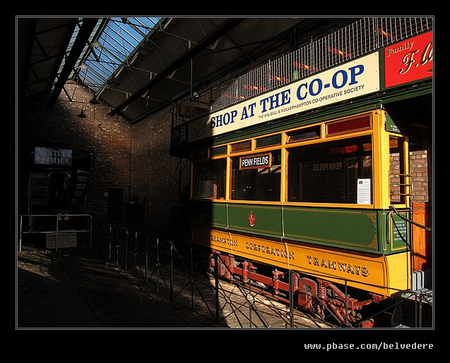 Albion Tram Depot, Black Country Museum