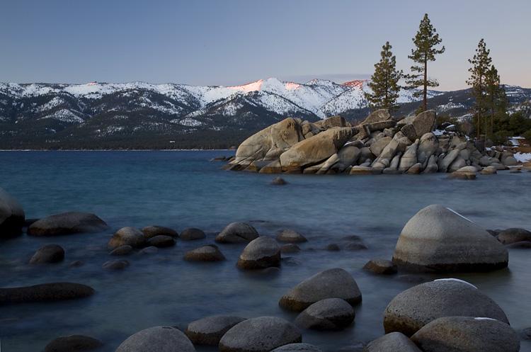 Tahoe Winter Shores