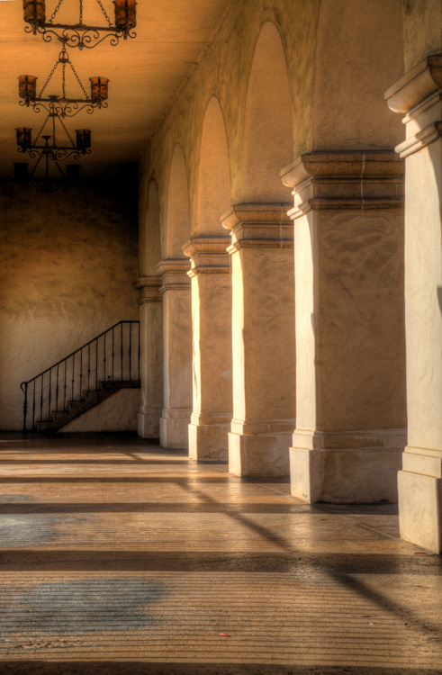 Afternoon Light Warms the Halls