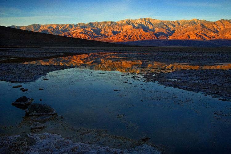 Alpine Glow in Death Valley