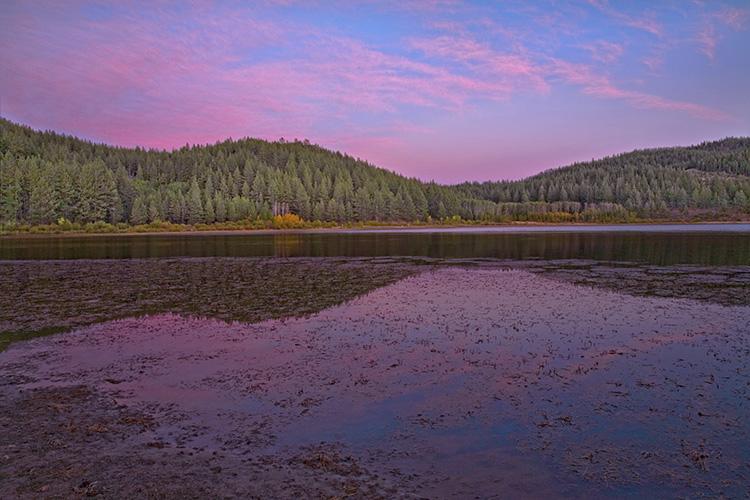 Autumn Sunset at Spooner Lake