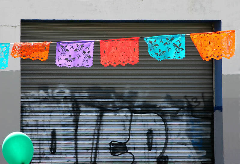 Festive grafitti