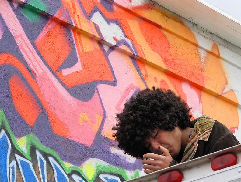 High on grafitti