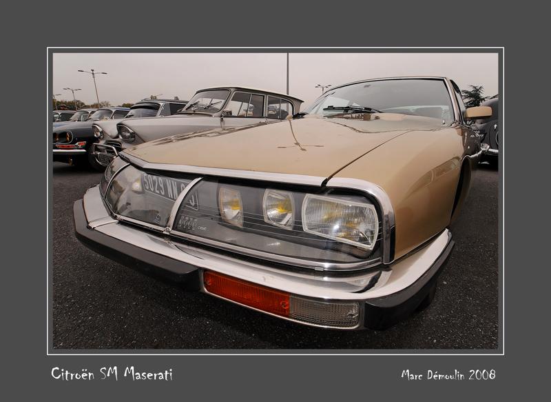CITROEN SM Maserati Le Bourget - France