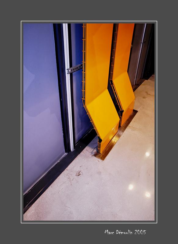 In a corridor