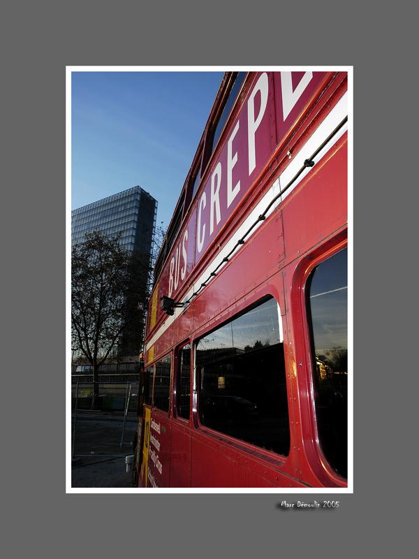 Bus crepes and Tres Grande Bibliotheque 1
