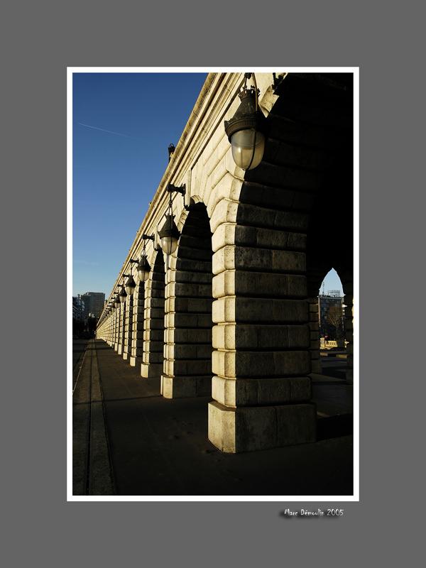 Bercy, the subway bridge